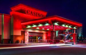 Deerfoot Inn and Casino Entrance