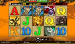 Mega Moolah Progressive Jackpot Slot Game