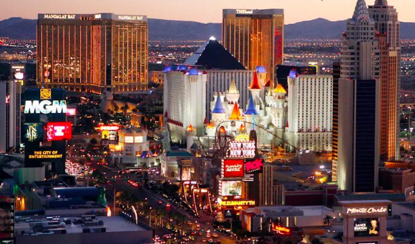 The Vegas Strip At Night