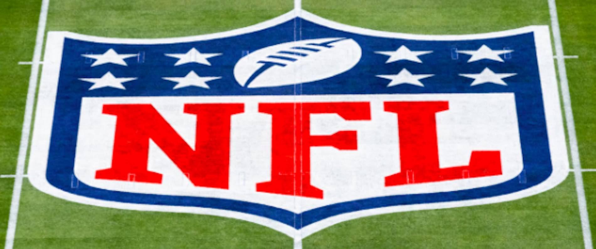 NFL Logo On Pitch