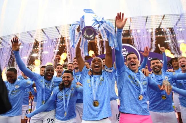 Manchester City Champions 2020-21